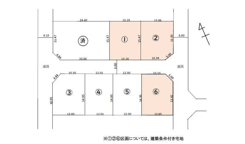 ウッドヴィレッジ出来田新町 区画図.png